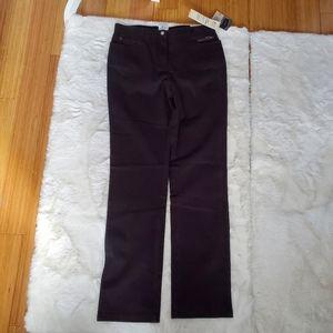 5/$30 Haggar high waist black pants sz 6